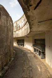 Large canon bunker on the west coast of Denmark