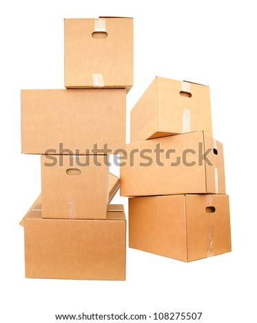 Large carton boxes