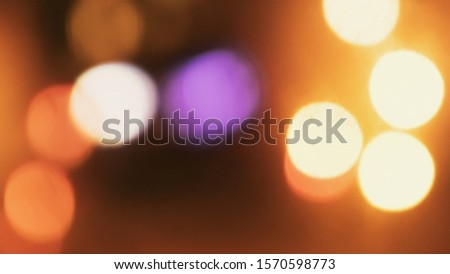 Large defocused bokeh lights. Abstract background #1570598773