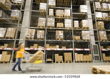 Large furniture warehouse
