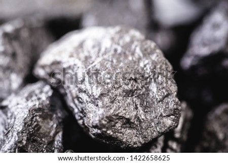 large gross precious stone, rare silver nugget. #1422658625