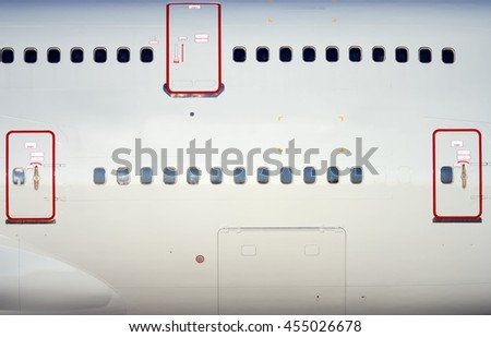 FREE IMAGE: Airplane Close-Up Side View - Libreshot Public ...