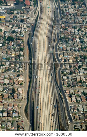 large highway in california