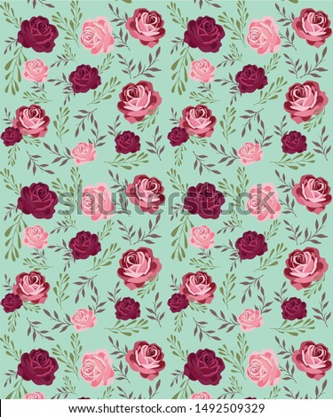 Large large roses on a light background for cards and packaging.