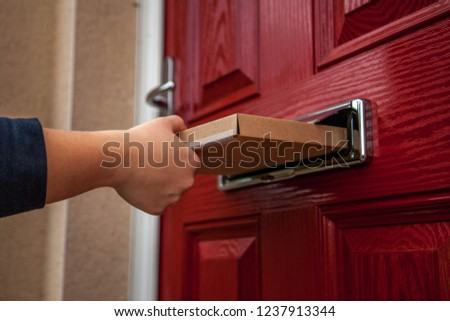 Large Letter Delivery Stock photo ©