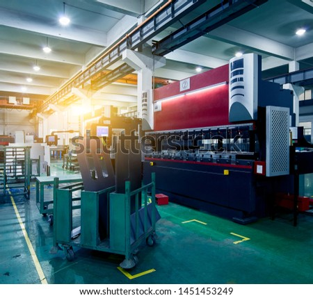 Large machines in large manufacturing plants #1451453249