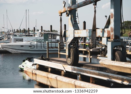 Large Marina Equipment