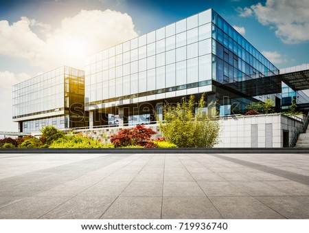 Large modern office building #719936740