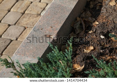 Granite curb Images and Stock Photos - Avopix com