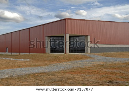 Large New Commercial Building in an Industrial Park