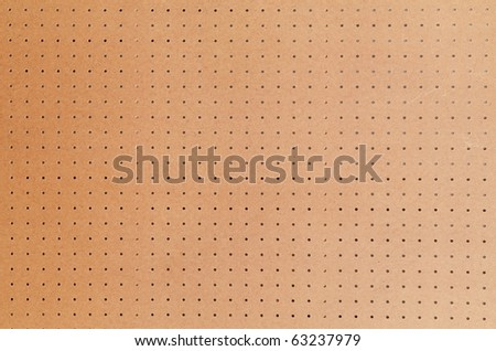 Large peg board