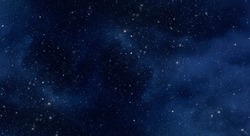 Large picture of starry sky with constellation, night sky as texture or background