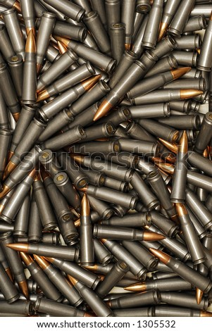 Large Pile of Bullets