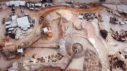 Large Quarry - Aerial image