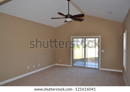 Large Room in Interior of a Home