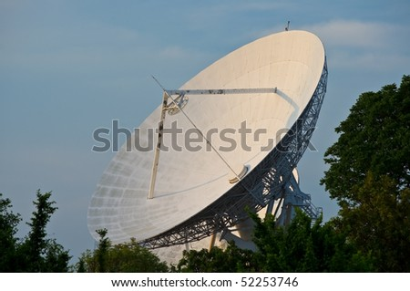 Large satellite dish, Thailand