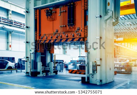 Large-scale automobile manufacturing and production of stamping lathes in stamping workshops #1342755071