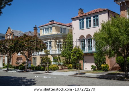 Large, single family houses in San Francisco