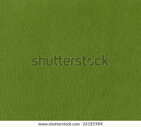 large size green soft leather texture.