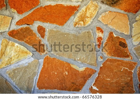 Large stone wall background