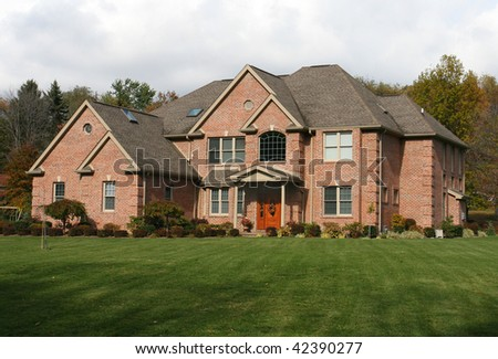 Large suburban home