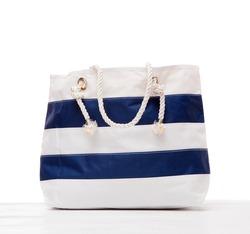Large summer bag isolated on white background