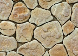 large texture of stone wall