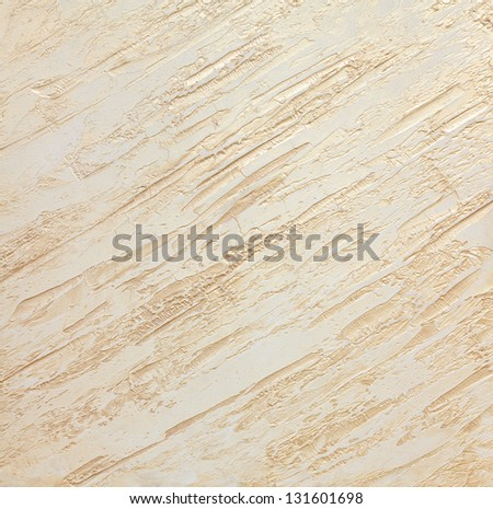large texture of wall painted beige with gloss