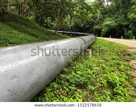 Large water pumping pipe, gas pipe