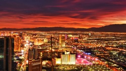 Las Vegas after sunset