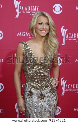 LAS VEGAS - APRIL 5: Julianne Hough  at the 44th annual Academy Of Country Music Awards held at the MGM Grand on April 5, 2009 in Las Vegas, Nevada