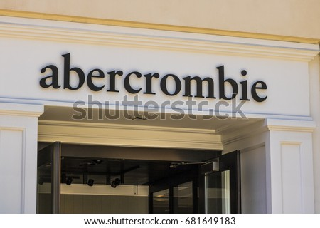 Las Vegas - Circa July 2017: Abercrombie & Fitch Clothing Store. Abercrombie & Fitch is a retailer that focuses on casual wear for young consumers   #681649183