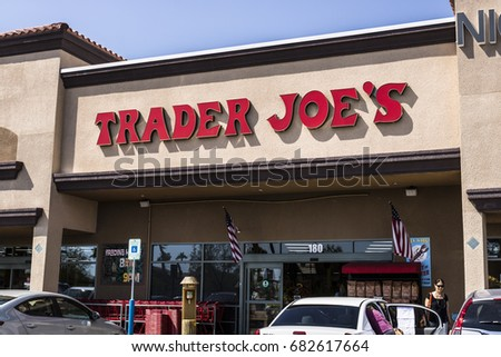 Las Vegas - Circa July 2017: Trader Joe's Retail Strip Mall Location. Trader Joe's is a chain of specialty grocery stores in the U.S. III
