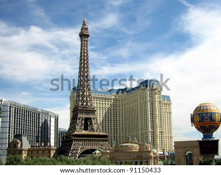Las vegas Eiffle Tower