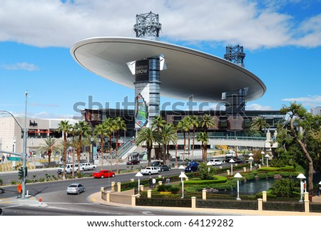 LAS VEGAS - MAR 4: Fashion Show Mall, one of the largest enclosed malls in the world with over 250 stores, 7 anchors, an elevated stage on Las Vegas Strip. March 4, 2010 in Las Vegas, Nevada. - stock photo