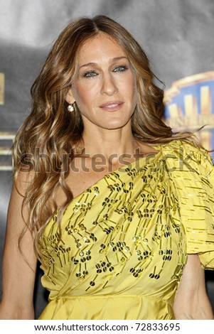 LAS VEGAS - MAR 18: Sarah Jessica Parker arrives at the Warner Bros. Pictures presentation to promote 'Sex and the City 2' at the Paris Las Vegas during ShoWest on March 18, 2010 in Las Vegas, NV.