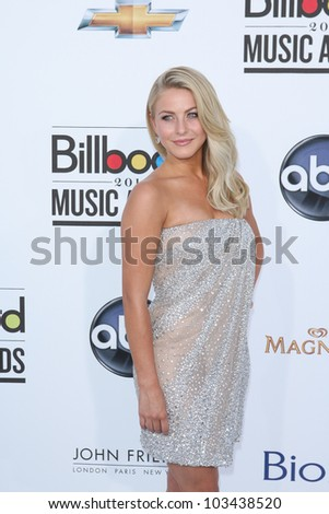 LAS VEGAS - MAY 20: Julianne Hough at the 2012 Billboard Music Awards held at the MGM Grand Garden Arena on May 20, 2012 in Las Vegas, Nevada