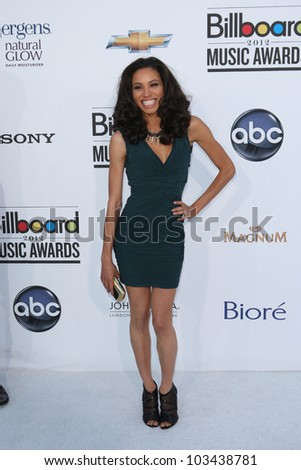LAS VEGAS - MAY 20: Jurnee Smollett at the 2012 Billboard Music Awards held at the MGM Grand Garden Arena on May 20, 2012 in Las Vegas, Nevada