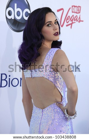 LAS VEGAS - MAY 20: Katy Perry at the 2012 Billboard Music Awards held at the MGM Grand Garden Arena on May 20, 2012 in Las Vegas, Nevada