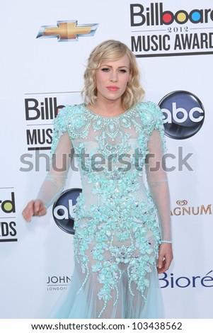 LAS VEGAS - MAY 20: Natasha Bedingfield at the 2012 Billboard Music Awards held at the MGM Grand Garden Arena on May 20, 2012 in Las Vegas, Nevada