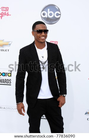 LAS VEGAS - MAY 22:  Trey Songz arriving at the 2011 Billboard Music Awards at MGM Grand Garden Arena on May 22, 2010 in Las Vegas, NV.
