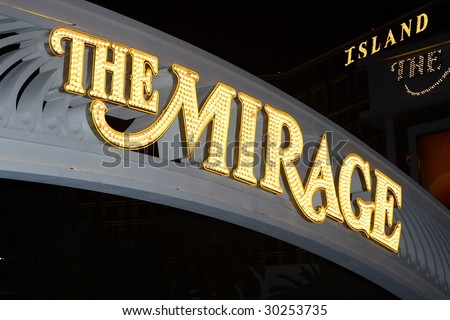 LAS VEGAS, NV - MARCH 31: The Mirage features the White Lions of Timbavati and Siegfried & Roy and Royal White Tigers of Nevada in Las Vegas Nevada on March 31, 2009
