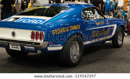 Las Vegas Nvusa November 4 2016 A 1969 Ford Mustang Cobra Jet
