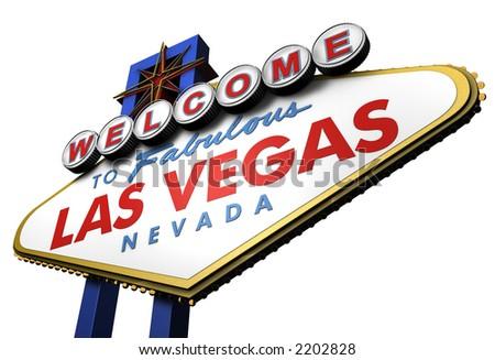 Las Vegas Sign, viewed from Below