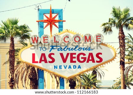 las vegas sign. welcome to...