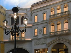 Las Vegas Venetian Hotel - interior