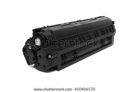 Laser Jet / Inkjet toner cartridge isolated on the white background #450406570