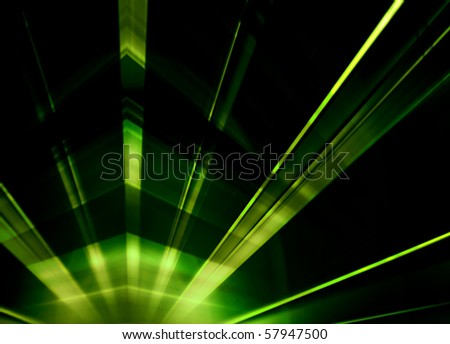 Laser light abstract background