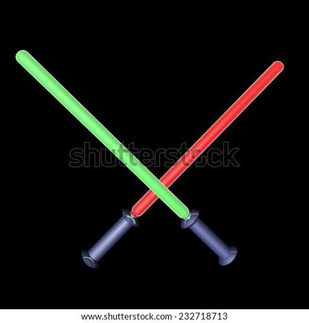 stock-photo-laser-swords-battling-in-darkness-d-render-232718713.jpg