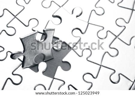 Last piece of jigsaw puzzle